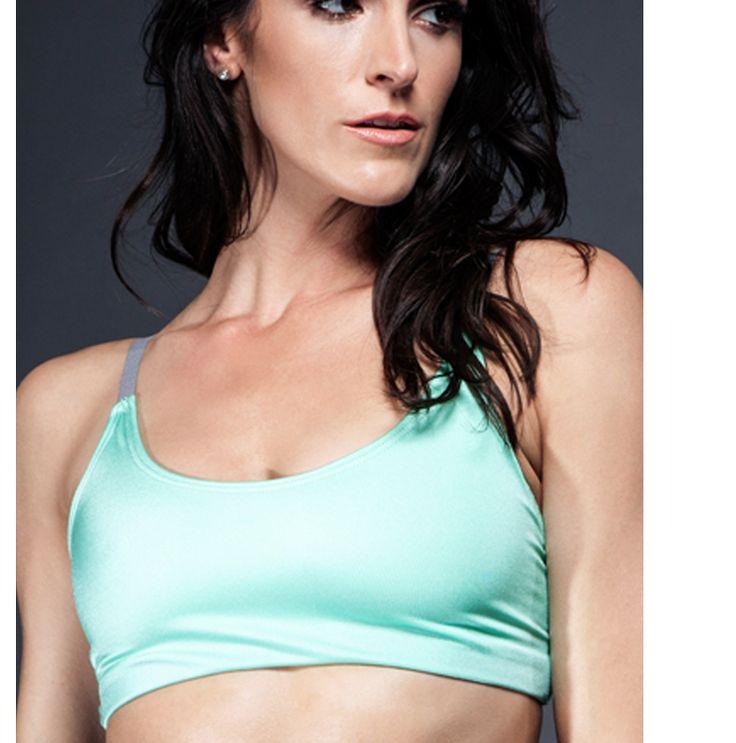 ONZIE Elastic Bra 42.00 Yoga fashion, Yoga bra, Style guides