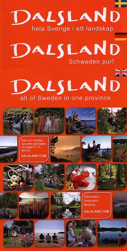 Dalsland, all of Sweden in one province/ Schweden pur!/ hela Sverige i ett landskap; Sweden | tourism travel brochure | by worldtravellib World Travel library