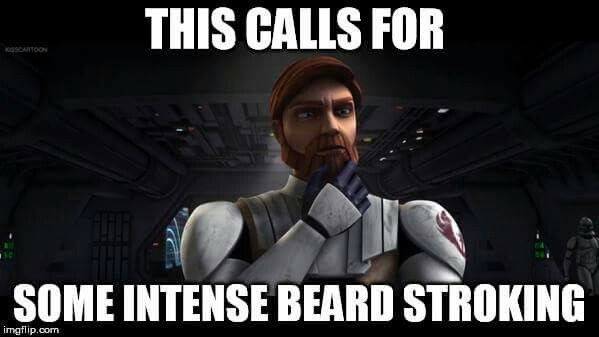 "Because this is accurate...Obi-Wan Kenobi, ""The Clone Wars""."