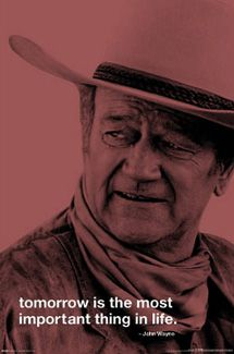 It seems John Wayne and Scarlet O'Hara have more in common than you'd think.
