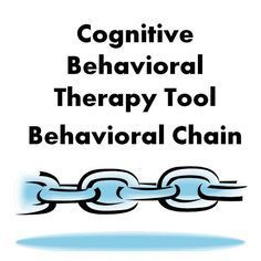 Cognitive Behavioral Therapy Tool: Behavioral Chain - great for problem solving skill building