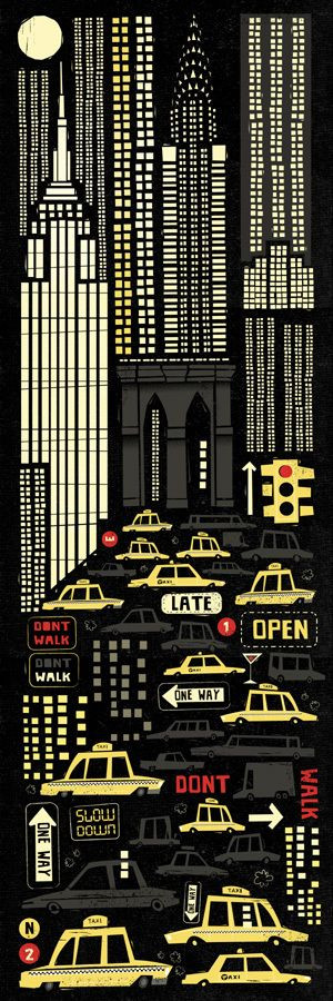 #illustration newyork by: Peter Donnelly