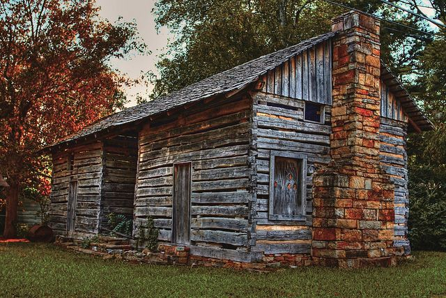 Dogtrot Houses Dog Trot Log Home In Arkansas