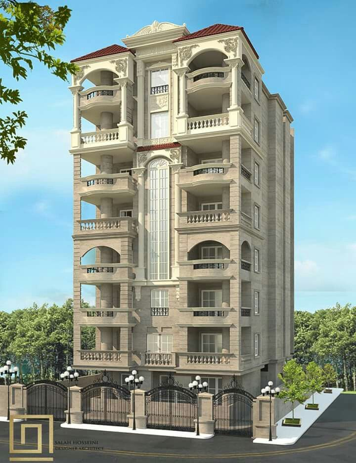 Pin By Eng Khaled On 3d Elevation Facade Architecture Design Architecture Building Design Classic House Design