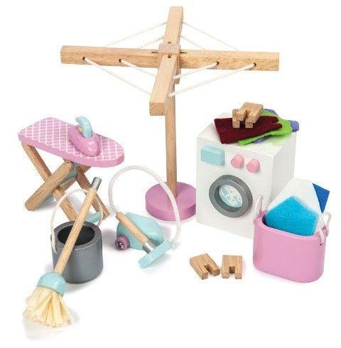 Le Toy Van - Dolls House Furniture Set  Daisy Lane Laundry Room