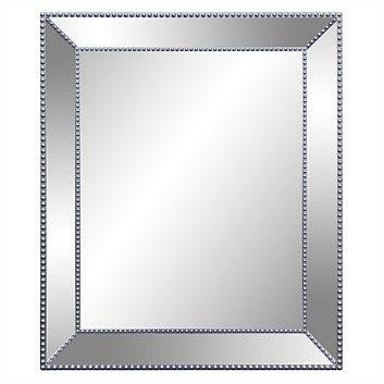 Briscoes - Kerridge Square Mirror with Border 53x63cm