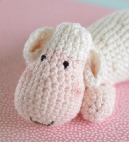 Crochet sheep  Free pattern