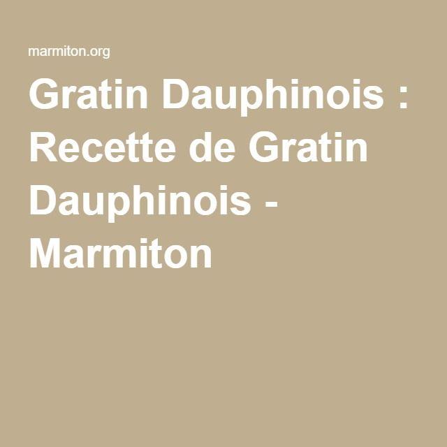 best 25+ gratin dauphinois marmiton ideas on pinterest | recette