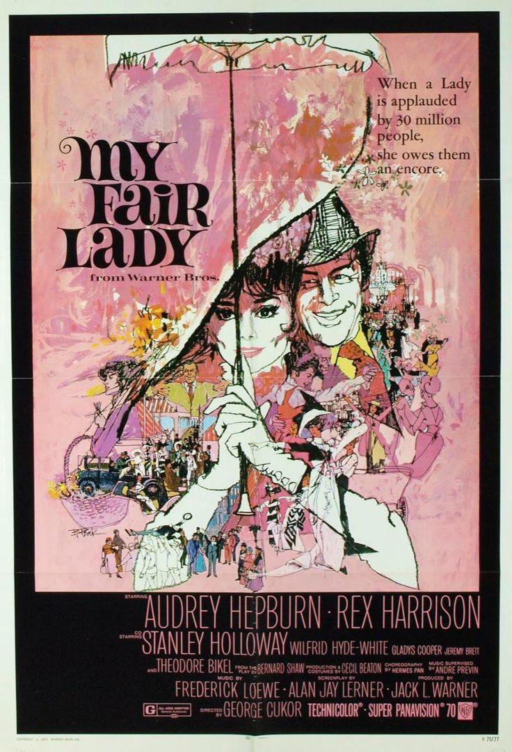 My fair lady (1964) EEUU. Dir: George. Cukor. Musical. Romance. Comedia. Educación - DVD CINE 930