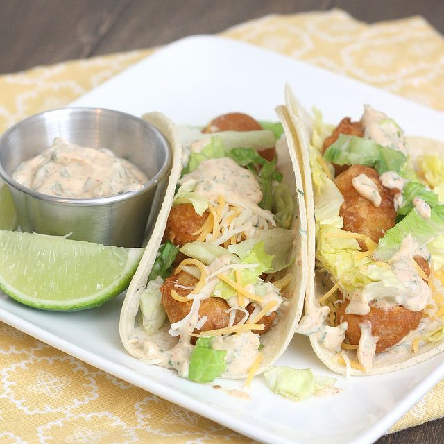 203 best images about fish and seafood dishes on pinterest for Beer battered fish tacos recipe
