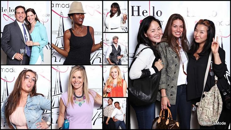 The #ILOVELAMODE photo booth! #fashion #bloggers