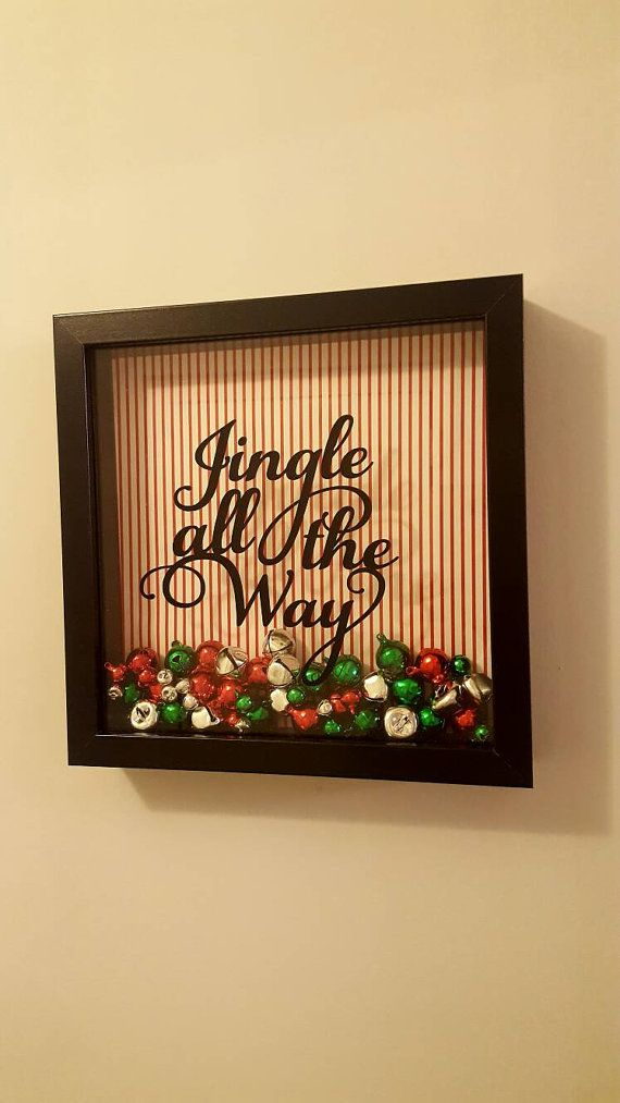 Check out this item in my Etsy shop https://www.etsy.com/uk/listing/468992500/christmas-jingle-bells-shadow-box-frame