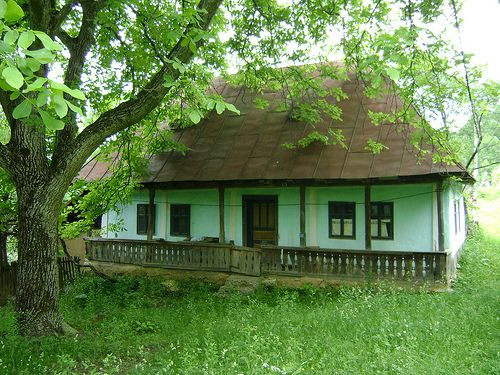 Preluca, one of the bets conserved tradtional villages from Northern Romania.