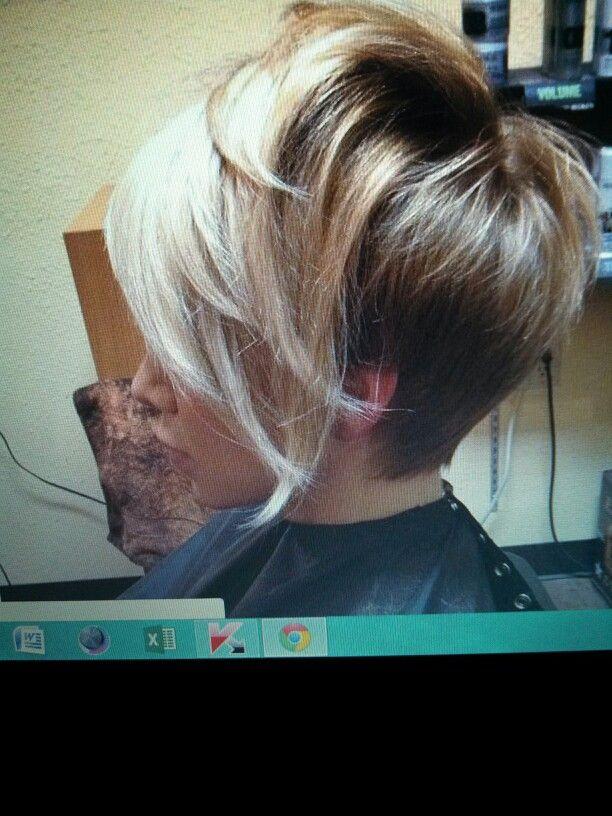 Short hair ombre <3