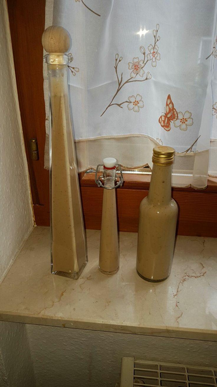Zimtlikör perfekt als Weihnachtsgeschenk Zimt Likör von Hankhaiwels auf www.rezeptwelt.de, der Thermomix ® Community