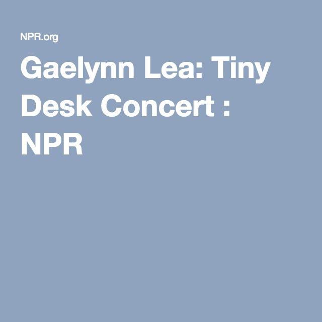 Gaelynn Lea: Tiny Desk Concert : NPR