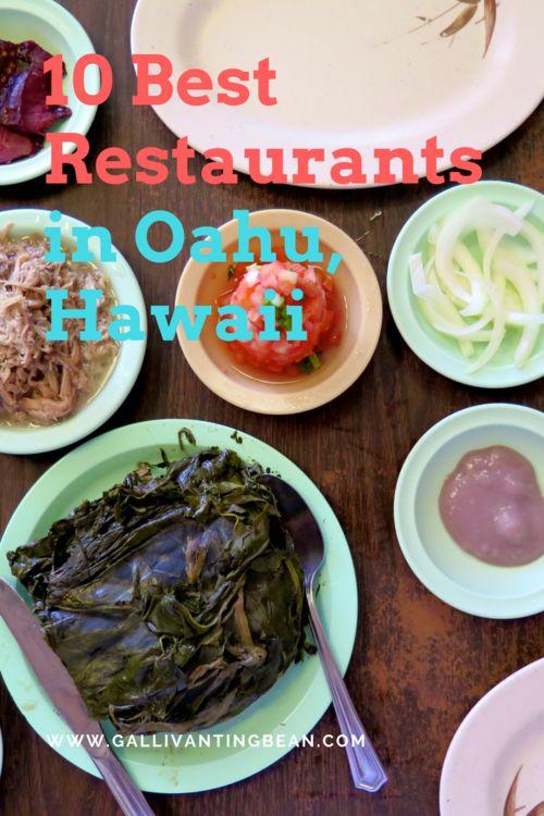 Must Eats in Oahu, Hawaii
