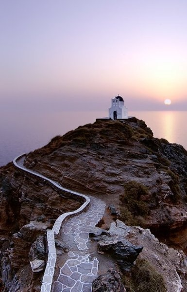 Chapel in Kastro - Sifnos Island, Greece