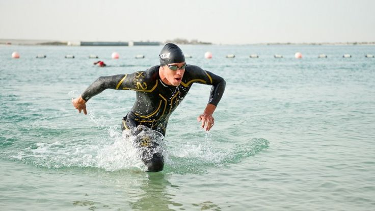 Open-water swimming tips for triathlons