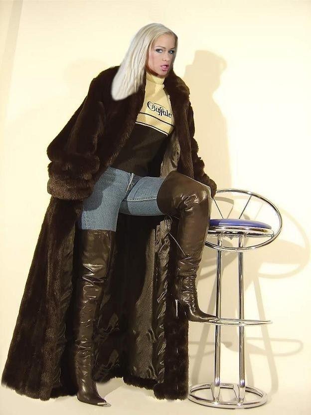Cfnm femdom coats