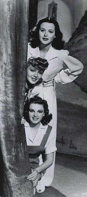 Hedy Lamarr, Lana Turner and Judy Garland - Zigfield Girl (1941) | House of Beccaria
