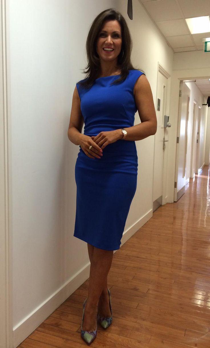 .@GMB @susannareid100 wears  Jasper Conran @Debenhams dress @OfficeShoes !