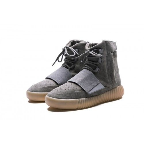 huge discount bb241 b42d5 Billiga Adidas Yeezy 750 Boost Light Grå Gum BB1840 Skor Rea