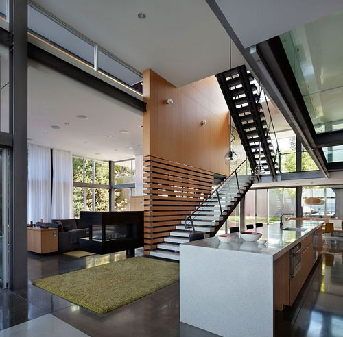 Living Room Graham House By E. Cobb Architects