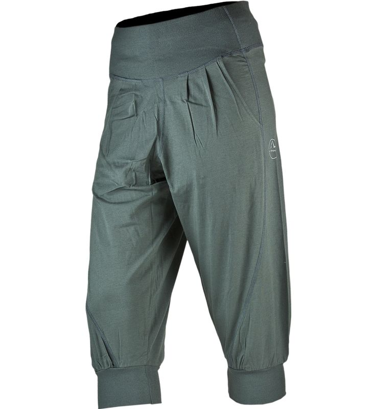 La Sportiva Shiobara Pantaloni corti arrampicata donna, Grey