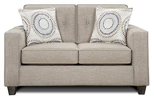 Chelsea Home Whately Loveseat In Heather Love Seat Chelsea House Home