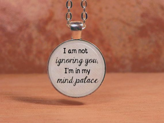 Quote I Am Not Ignoring You Im In My Mind By Northstarpendants