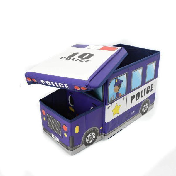Jual beli KOTAK PENYIMPANAN BENTUK MOBIL POLISI di Lapak Rijal - rijal6683. Menjual Tempat Penyimpanan & Organizer - Kotak Penyimpanan Serbaguna Mobil Polisi menghadirkan solusi praktis untuk menyimpan berbagai benda.  Kotak ini memiliki bentuk unik dengan motif animasi mobil polisi, sehingga cocok untuk anak-anak.  Di dalamnya terdapat tempat cukup luas untuk menaruh barang seperti buku, mainan, atau aksesoris.  Selain dapat menyimpan berbagai perlengkapan, kotak serbaguna ini juga b...