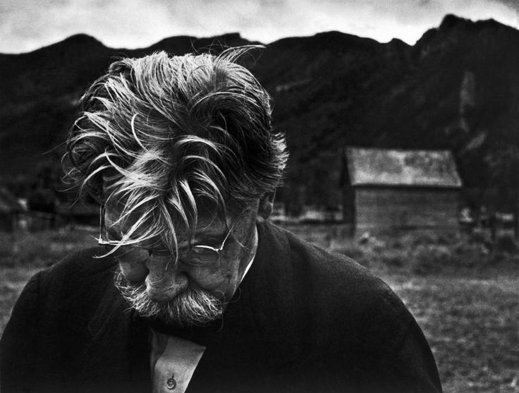 W.Eugene Smith Photographer http://territoriotoxico.wordpress.com/ USA. Colorado. Aspen. 1949. French doctor Albert SCHWEITZER.