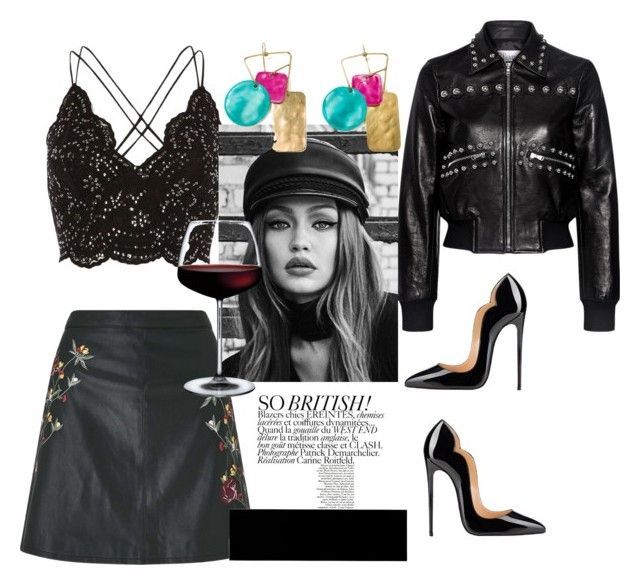 """""""Wild street"""" by pusheencute on Polyvore featuring River Island, RED Valentino, Miss Selfridge and Maybelline"""
