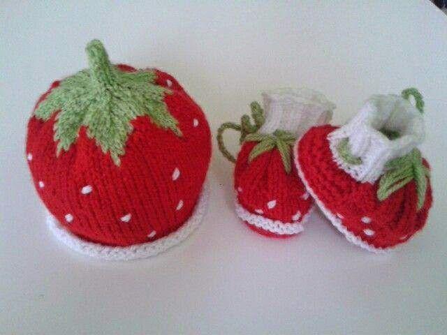 0ea2d844c46 Tricots Bébé   fraise ! ensemble pour bébé de 3 mois (pour d autres  tailles