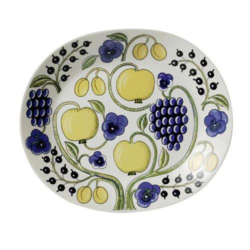 Paratiisi Oval Platter by Arabia 1873