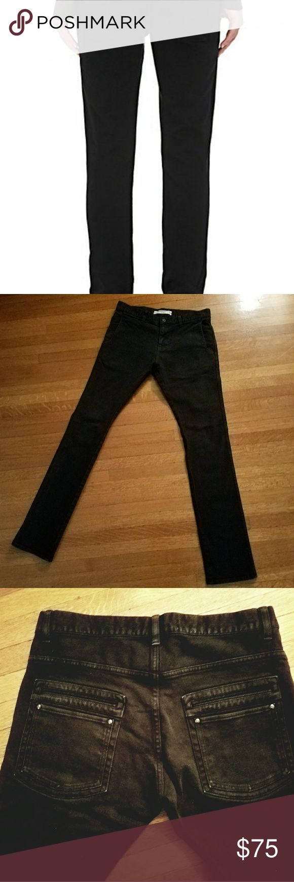 ROBERT GELLER MEN'S SKINNY JEANS BARELY EVER WORN, CONDITION IS EXCELLENT. BEAUTIFULLY MADE. 2 POCKETS IN FRONT, 4 IN BACK. WAIST IS 32-33 INCHES. THESE STRETCH. INSEAM IS 34 INCHES Robert Geller Jeans Skinny