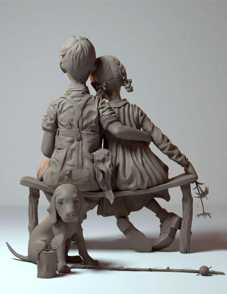 Character Modeling Showreel by Hannah KangComputer Graphics & Digital Art Community for Artist: Job, Tutorial, Art, Concept Art, Portfolio