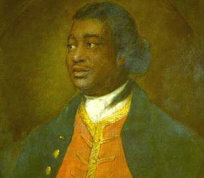 Portrait of Ignatius Sancho, 1768  by Thomas Gainsborough, National Gallery of Canada.