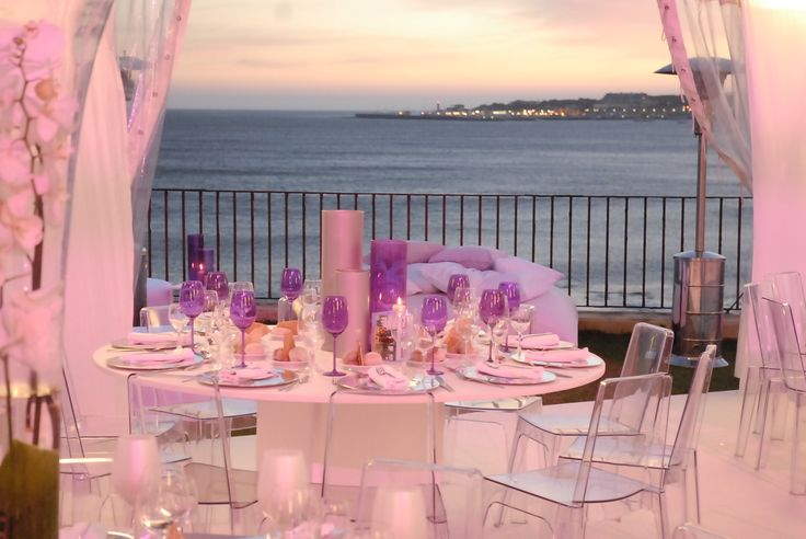#wedingvenue by the sea estoril #weddingportugal pink decor seating #villasaopaulo свадьба за границей