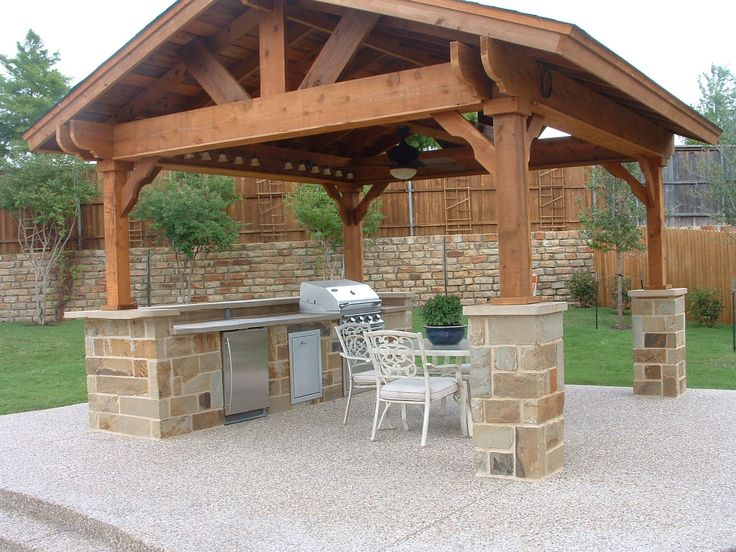 covered outdoor kitchen designs covered outdoor living spaces standalone shingled roof 6244