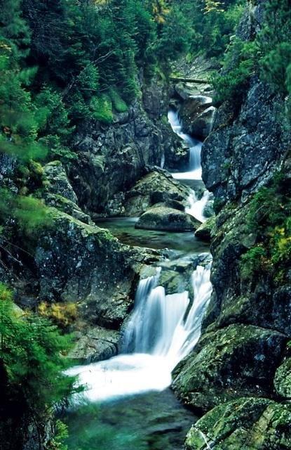 Wodogrzmoty Mickiewicza / Waterfalls in Tatra Mountains