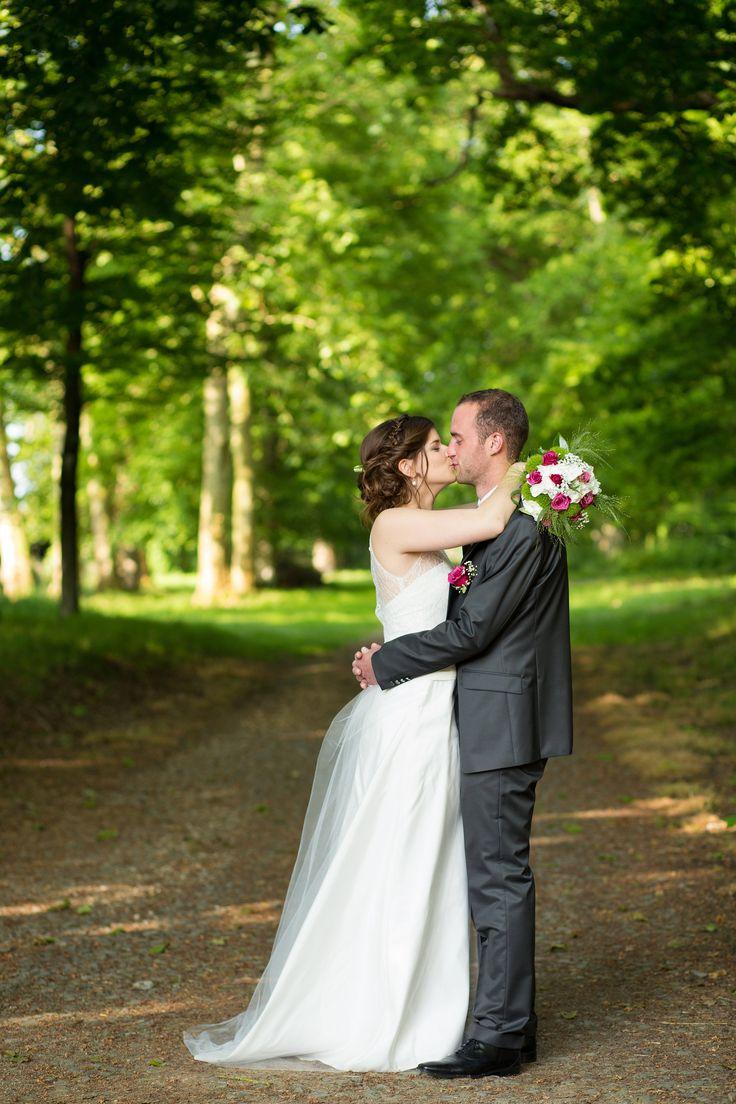 mariage champêtre photo de couple