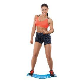 Amazon.com : Simply Fit 30044 Abs Legs Core Workout Balance Board (Blue, 25.5 x 18-Inch) : Sports & Outdoors
