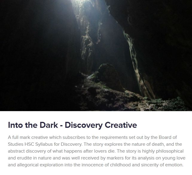 http://hscenglishtutor.org/hsc-english-discovery-creative-writing/
