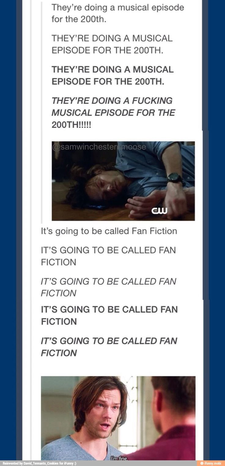 A Musical episode called Fan Fiction? Whacha wanna bet that half of the tumblr ideas are going to have a moment...
