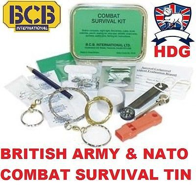 British army bcb #combat #survival kit tin sas sf raf #military marines cadet sco,  View more on the LINK: http://www.zeppy.io/product/gb/2/120615799073/