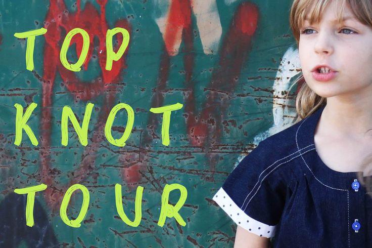 Top Knot Blog Tour - Filles a Maman