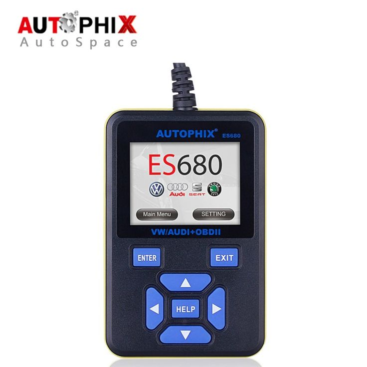 64.18$  Buy here - http://alimq5.worldwells.pw/go.php?t=32332445043 - Autophix E-SCAN ES680 VAG RPO+OBD Scanner Auto Diagnostic Scan Tool OBD2 OBDII Code Reader Best for Volkswagen Car Detector