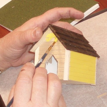 how to: doghouse for the dollhouse